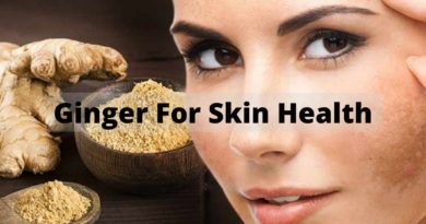 ginger for skin health