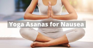 yoga asanas for Nausea