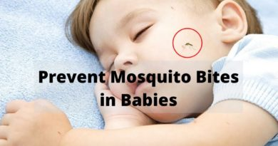 prevent mosquito bites in babies