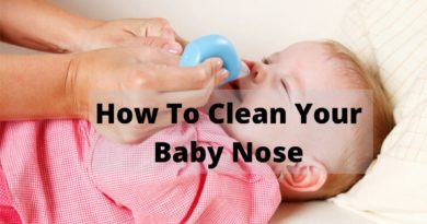 how to clean your baby nose