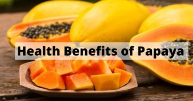 health benefis of papaya
