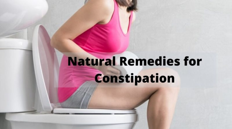 Natural Remedies for Constipation