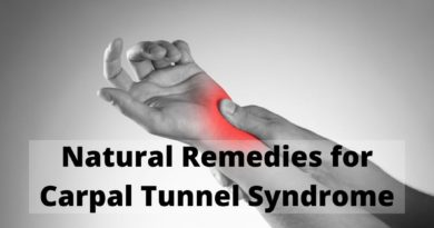 Natural Remedies to Relieve Carpal Tunnel Syndrome