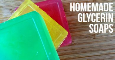 Homemade Glycerin Soap