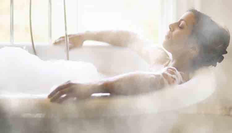 hot bath